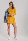 Żółta Sukienka Lamelirea