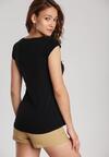 Czarny T-shirt Loraisea
