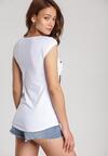 Biały T-shirt Loraisea
