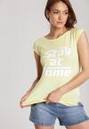 Żółty T-shirt Loraisea