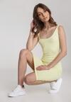 Żółta Sukienka Laomephia