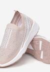 Beżowe Sneakersy Aroapeia