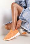 Pomarańczowe Sneakersy Kylora