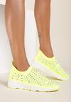 Żółte Sneakersy Kylora