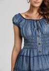 Niebieska Sukienka Adriefer