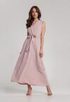 Jasnoróżowa Sukienka Loraithia