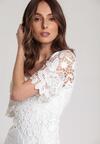 Biała Sukienka Alusana