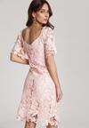 Jasnoróżowa Sukienka Alusana