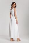 Biała Sukienka Parphaeia