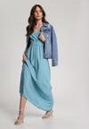 Niebieska Sukienka Nesameni