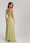 Zielona Sukienka Nesameni