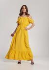 Żółta Sukienka Echodine