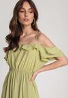 Zielona Sukienka Echodine