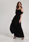 Czarna Sukienka Echodine