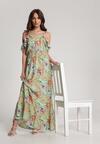 Jasnozielona Sukienka Poreimea