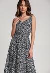 Granatowa Sukienka Auralla
