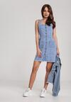 Niebieska Sukienka Kelalyse