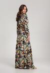 Granatowa Sukienka Aqealia