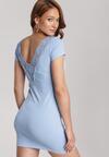 Jasnoniebieska Sukienka Diophaia