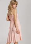 Jasnoróżowa Sukienka Avaria