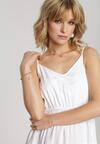 Biała Sukienka Avaria