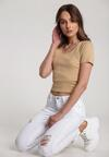 Białe Spodnie Celamisia