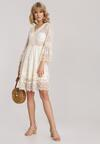 Jasnobeżowa Sukienka Telenassa