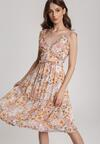 Jasnobeżowa Sukienka Aglarei