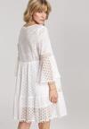 Biała Sukienka Rhaesise