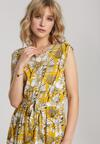 Żółta Sukienka Morelira