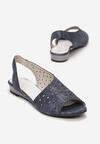 Granatowe Sandały Adreariel