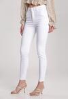 Białe Spodnie Skinny Olesa