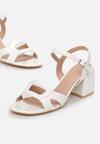 Białe Sandały Calonei