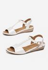 Białe Sandały Maedalyn