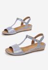 Niebieskie Sandały Maedalyn