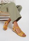 Żółte Sandały Maedalyn