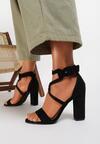 Czarne Sandały Kalimei