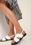 Białe Sandały Vakala
