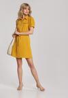 Żółta Sukienka Thalasea