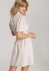 Jasnobeżowa Sukienka Thalasea