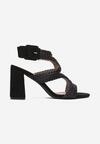 Czarne Sandały Themikea