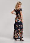 Granatowa Sukienka Nerimia