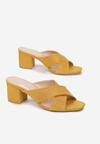 Żółte Klapki Talora