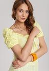 Żółta Bluzka Fontarien