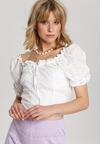 Biała Bluzka Fontarien