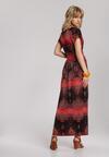 Czerwona Sukienka Nerimoni