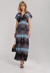 Niebieska Sukienka Nerimoni