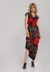 Czerwona Sukienka Metileora