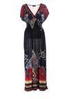 Granatowa Sukienka Nalori
