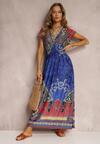Niebieska Sukienka Nalori